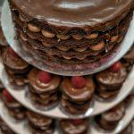 Tort dens de ciocolata