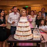Tort cocos  botez Giulia Alexandru la Del Mar Ballroom