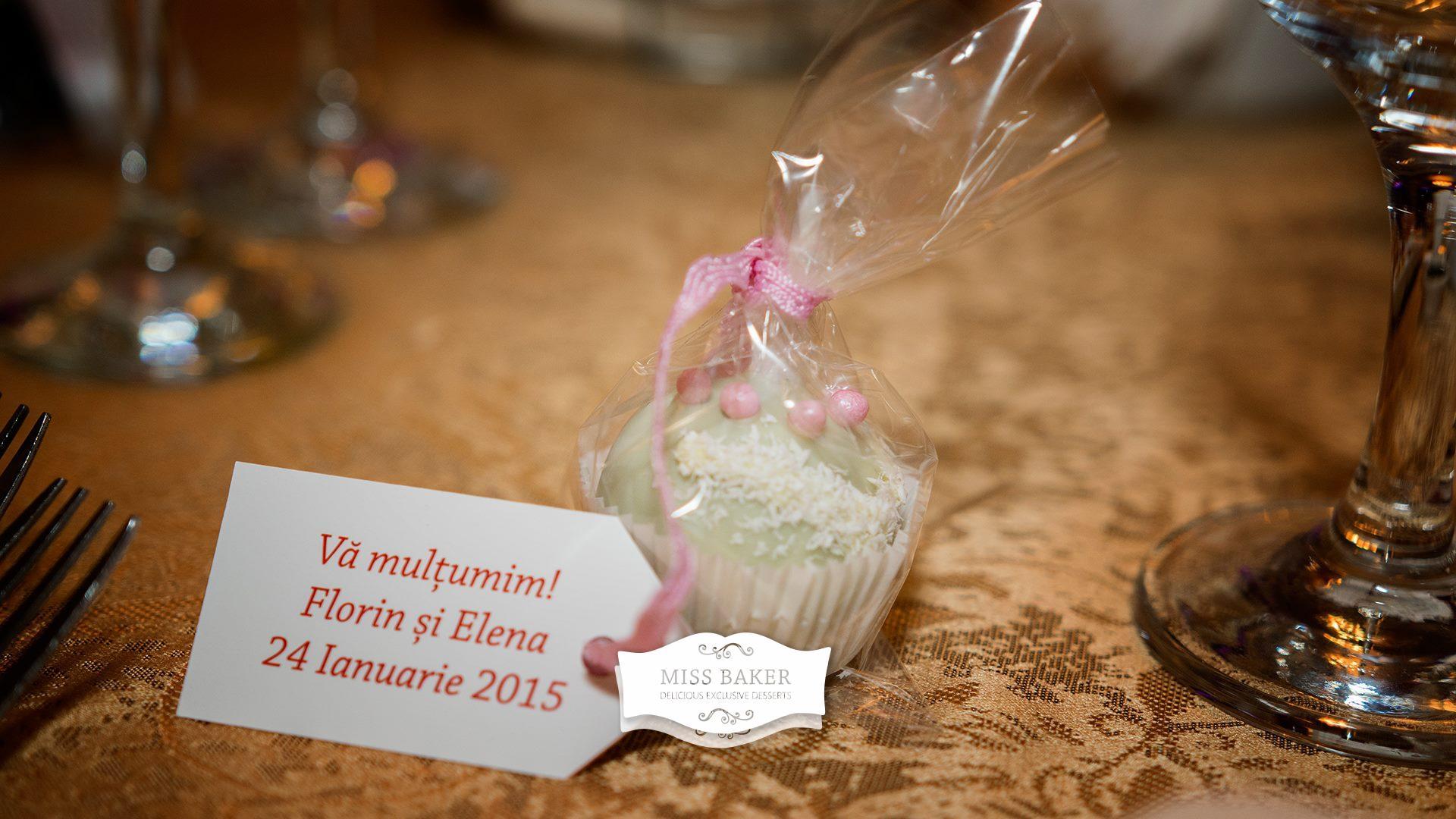 Marturii Nunta Prajituri Pentru Elena Si Florin Miss Baker